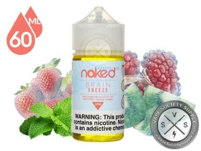 Brain Freeze by Naked 100 Menthol 60ml