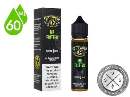 Mr. Fritter Ejuice by Cuttwood 60ml