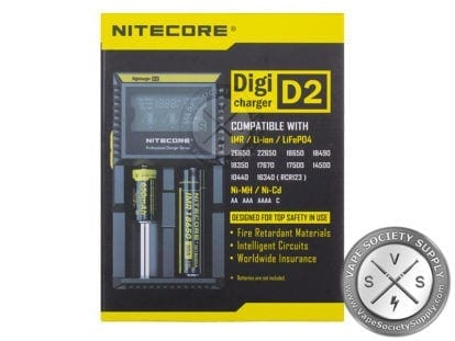 Nitecore D2 LCD Digicharger