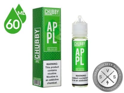 Bubble Apple Ejuice by Chubby Bubble Vapes 60ml