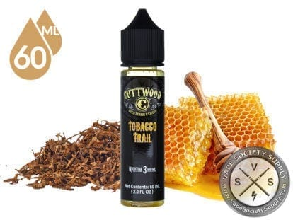 Tobacco Trail by Cuttwood Eliquids 60ml