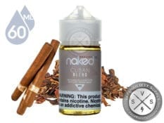 Cuban Blend Tobacco by Naked 100 60ml