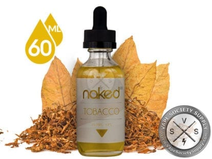 Naked 100 Euro Gold Tobacco 60ml