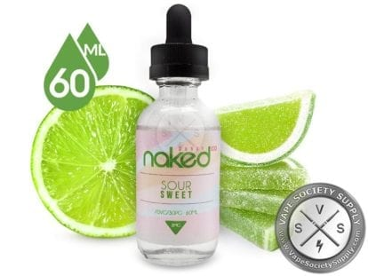 Naked 100 soursweet 60ml