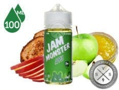 Apple Jam Ejuice by Jam Monster Eliquid 100ml