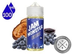 Jam Monster Blueberry Jam Ejuice 100ml