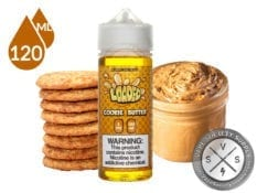 Loaded Cookie Butter Eliquid 120ml