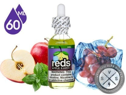 Grape Iced Reds Apple Ejuice by 7 Daze 60ml