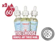Naked 100 Menthol Bundle 180ml