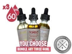 Naked 100 Tobacco Bundle 180ml