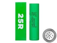 18650 Samsung 25R 2500mAh (1 x battery)