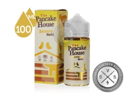 Banana Nuts by The Pancake House 100ml