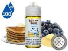 The Pancake House Blueberry Flapjacks 100ml ejuice