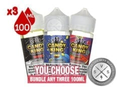 Candy King Eliquids Bundle 3x100ml