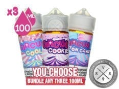 Circus Bundle by Puff Labs 100mlx3