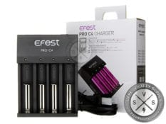 Efest PRO C4 Charger - 4 Bay Lithium Charger