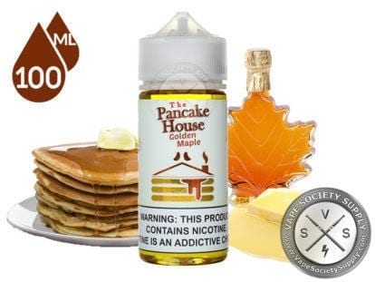 The Pancake House Golden Maple 100ml ejuice