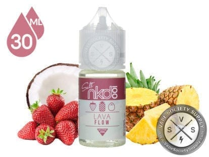 NKD 100 Salt Lava Flow 30ml Eliquid