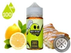 Lemon Glaze by Treat Factory Eliquid 100ml