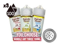 The Pancake House Bundle by Gost 3x100ml (300ml)