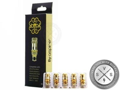 DotMod Petri Tank Replacement Coils - Clapton Pack of 5