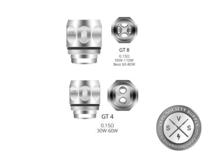 Vaporesso NRG GT Replacement Coils GT8 - GT4