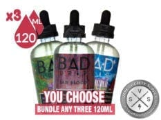 BAD DRIP BUNDLE 360ml (3x120ml)