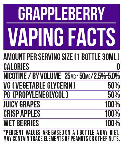 GRAPPLEBERRY BY I LOVE SALTS by MAD HATTER