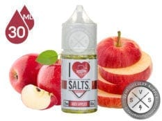 I LOVE SALTS BY MAD HATTER JUICY APPLES 30ML E-JUICE