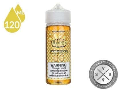 Loaded LEMON BAR Eliquid 120ml