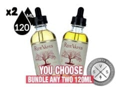 RIPE VAPES BUNDLE 240ml