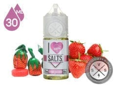 I Love Salts by Mad Hatter Strawberry Candy 30ml E-Juice
