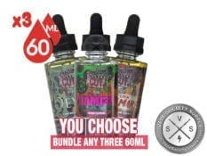 Directors Cut Ejuice Bundle 180mL (3x60ml)