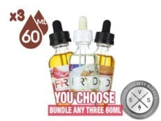180ml Ejuice Bundle by FRYD (3x60ml)