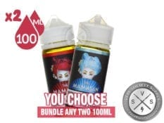 Mamasan Eliquid Bundle 200ml (2x100ml)
