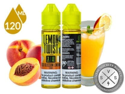 Lemon Twist Peach Blossom Lemonade Eliquid 120ml
