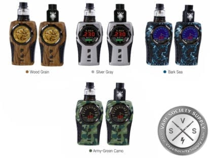 Sigelei Top 1 230W Kit camo and wood