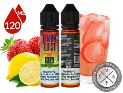 Lemon Twist Strawberry Mason Lemonade Eliquids 120ml