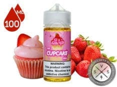 The Cupcake Man Strawberry Vaper Treats 100ml