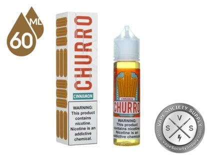 Cinnamon Churro Ejuice by Snap Liquids60ml