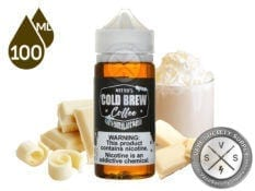 White Chocolate Mocha by Nitro's Cold Brew Coffee Eliquid 100ml