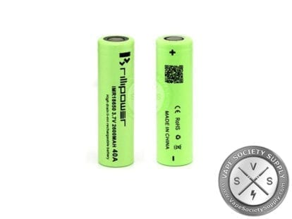 2600Mah 40A Brillipower 18650 Battery