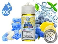 BlueBerriesLemonSwirlIced by SweetSour 100ml