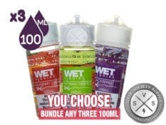 Ejuice Bundle by Wet Liquids 300ml