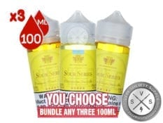 Kilo Sour Iced Series Eliquid Bundle 300ml (3X100ml)