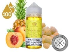 Kilo Sour Series Pineapple Peach Sour 100ml Ejuice