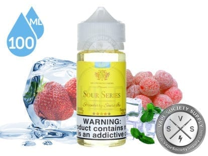 Kilo Sour Iced Series Strawberry Sour Ice 100ml Ejuice