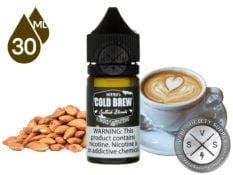 Nitro's Cold Brew Salted Blend Almond Cappuccino 30ML Eliquid