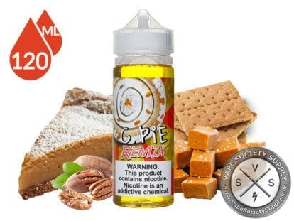 Food Fighter Crack Pie Remix 120ml Eliquid