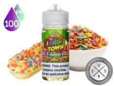Donut Town Pebbled Place Vape Juice 100ml